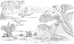 23 realistic dinosaur coloring pages animals printable coloring