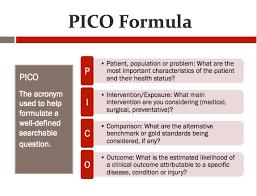 pico evidence based medicine ebm resources libguides at