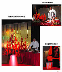 Flame Decorations Incredible Events Fire And Ice Themed Ideas