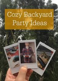 Backyard Party by Cozy Backyard Party Ideas With Stanley Pmi Campfire Chic