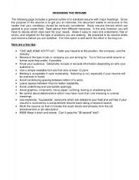 Outstanding Resume Examples Examples Of Resumes 93 Astounding A Great Resume Guide To Resume