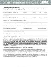 minor waiver form templates fillable u0026 printable samples for pdf