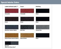 toyota interior colors chart innovation rbservis com