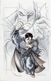 batman vs superman marker sketch by gavinmichelli on deviantart