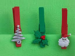 christmas pegs decorations u2013 easycraftsforchildren