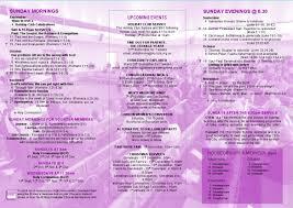 programme cards u2014 st mary u0027s church basingstoke