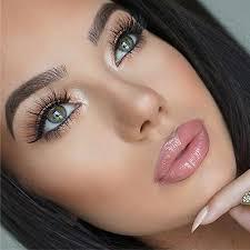 to apply false eyelashes
