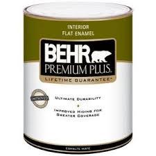 Interior Flat Paint Behr Premium Plus Interior Flat Enamel 185001 Reviews U2013 Viewpoints Com