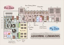 floor plan about learning commons learning commons office of