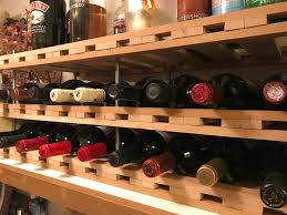 how to build a wine rack in a cabinet build a simple diy wine rack in an afternoon 30 bottles
