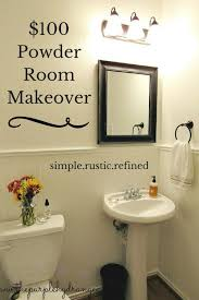 powder room decorating ideas for your bathroom camer design powder room makeover under 100 the purple hydrangea