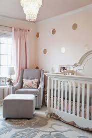 Grey Nursery Decor Pink Grey And Gold Glamorous S Nursery Cribspiration