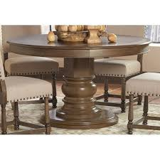 Coaster Dining Room Sets Coaster Willem Round Dining Table In Ash Brown 106081