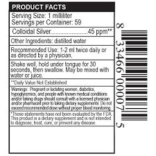 private label colloidal silver drops liquid supplement manufacturer