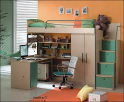 full size loft bed with desk and storage 0 home furniture and