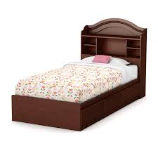 single bedroom amazon com summner breeze twin storage bed royal cherry home
