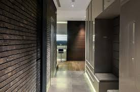 ultra modern apartment anthracite black london uk ngs materials