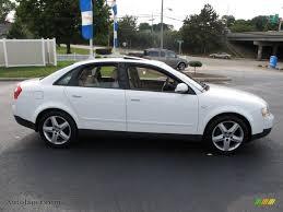 2003 audi a4 1 8 t sedan 2003 audi a4 1 8t quattro sedan in polar white photo 6 258831