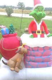 Outdoor Christmas Decorations Inflatables by 10 Best Grinch Inflatables Images On Pinterest Grinch Outdoor