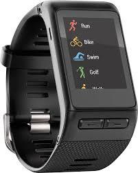 garmin vivoactive hr smartwatch black 010 01605 03 best buy