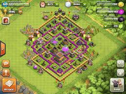 clash of clans wallpaper hd clash of clans base designs town hall level 5 1337 wiki