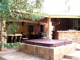 covered outdoor living spaces houston outdoor living spaces fire pit and spa