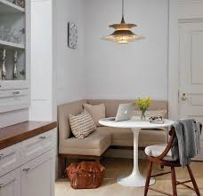 warm interior design idea of classy dining room themed feat oak