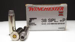 winchester 38 special p 158 grain lead semi wad cutter hp denim
