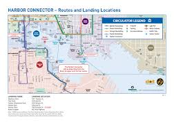 Map Of Boston Harbor by Harbor Connector Charm City Circulator