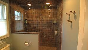 shower unbelievable custom walk in showers versus prefab options