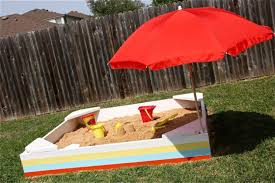 Build A Sandpit In Your Backyard Bring The Beach In Your Backyard Amazing Diy Sandbox