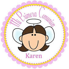 labels for party favors 40 labels 2 communion personalized stickers party