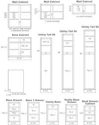 kitchen cabinet sizes chart kitchen cabinets to go standard
