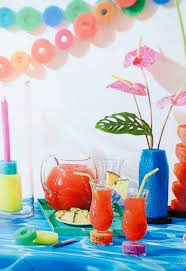 see my pool noodle party decorations in rachael ray everyday