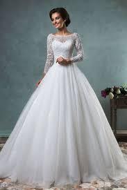 flowy long sleeve ball gown wedding dress c54 about wedding