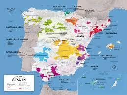 Portugal Spain Map by Map Of Spain Wine Regions Wine Folly