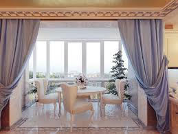 Curtains For Dining Room Ideas Comfort Dining Room Ideas With Lovely Curtains Dining Room