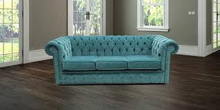 teal velvet chesterfield sofa teal blue velvet chesterfield sofa designersofas4u