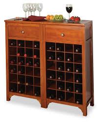 kitchen buffet cabinet with wine rack wine rack in kitchen cabinet