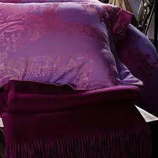 Fuschia Bedding Dolce Mela Bedding Luxury Damask Queen Size Duvet Cover Set Dm471k