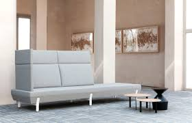 contemporary sofa polyester fiber by arik levy 3 seater