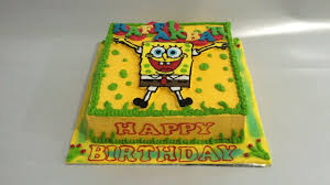 spongebob cake ideas spongebob cake decorating easy bc transfer