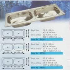 Stainless Steel Kitchen Sink Nirali Kitchen Sink Authorized - Nirali kitchen sinks