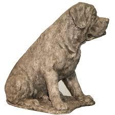 mastiff lawn ornaments statue lawn ornament animal