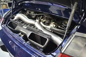 nissan 350z y pipe product test agency power high flow y pipe on porsche 996tt