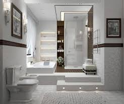 Contemporary Bathroom Decorating Ideas Bathroom Delectable Modern White Nice Bathroom Decoration Using