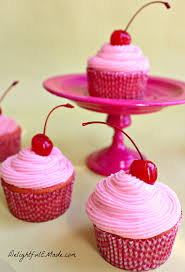 very cherry cupcakes delightful e made