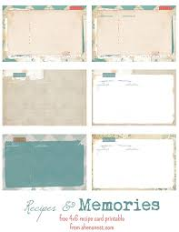 printable recipes free 1276 best recipe cards pages covers binder planner printables most