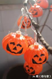 2017 halloween haunted house party bar dress decorated lantern