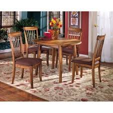 Drop Leaf Outdoor Table Berringer Country Drop Leaf Round Table D199 15 Ashley Furniture